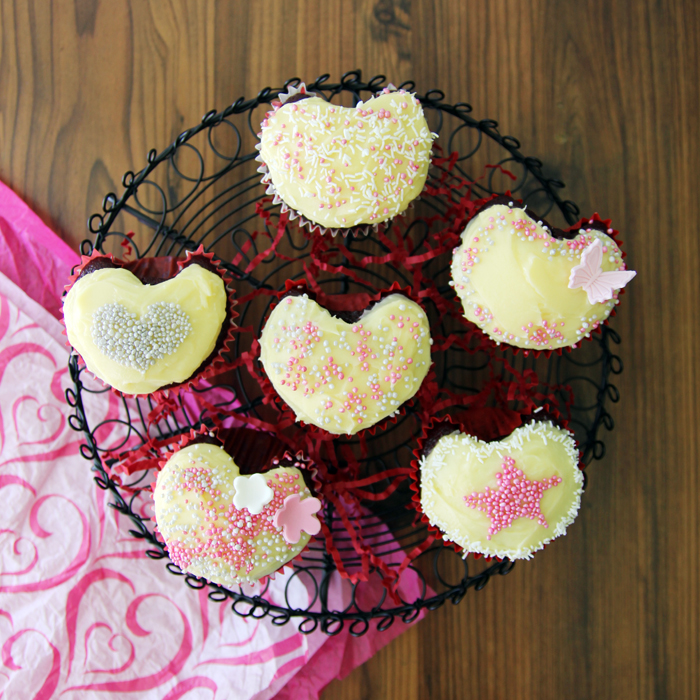Sprinkles Red Velvet Heart Cupcakes Recipes — Dishmaps